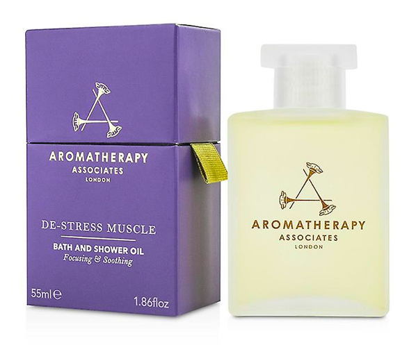 De-Stress Muscle Bath & Shower Oil