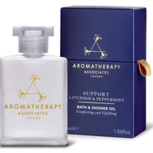 Support Lavender & Peppermint Bath & Shower Oil